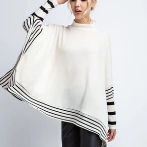 12 PM by Mon Ami NWT poncho style top.